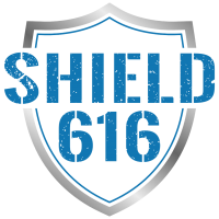 Shield 616 logo